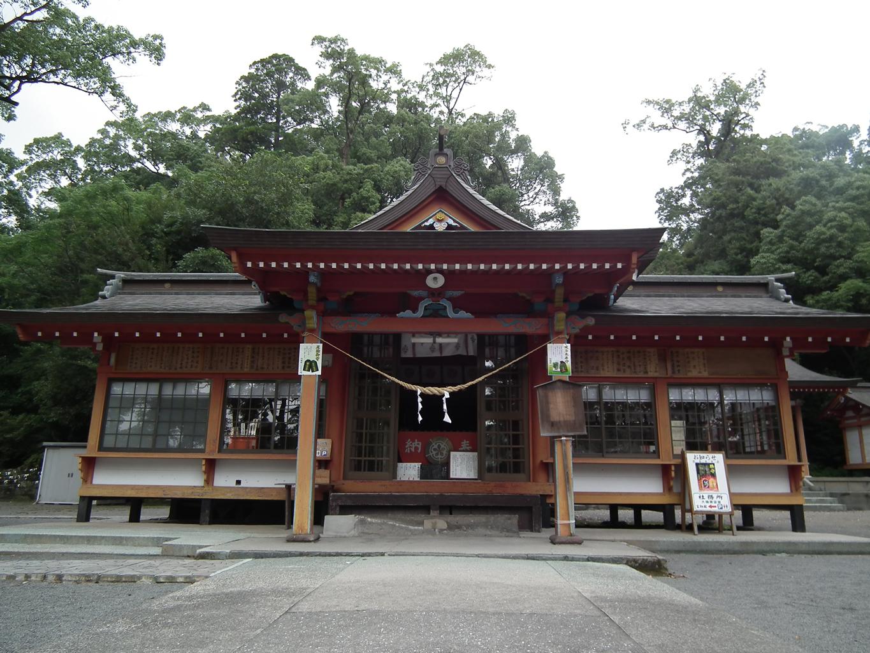 鹿児島観光案内所・蒲生八幡神社